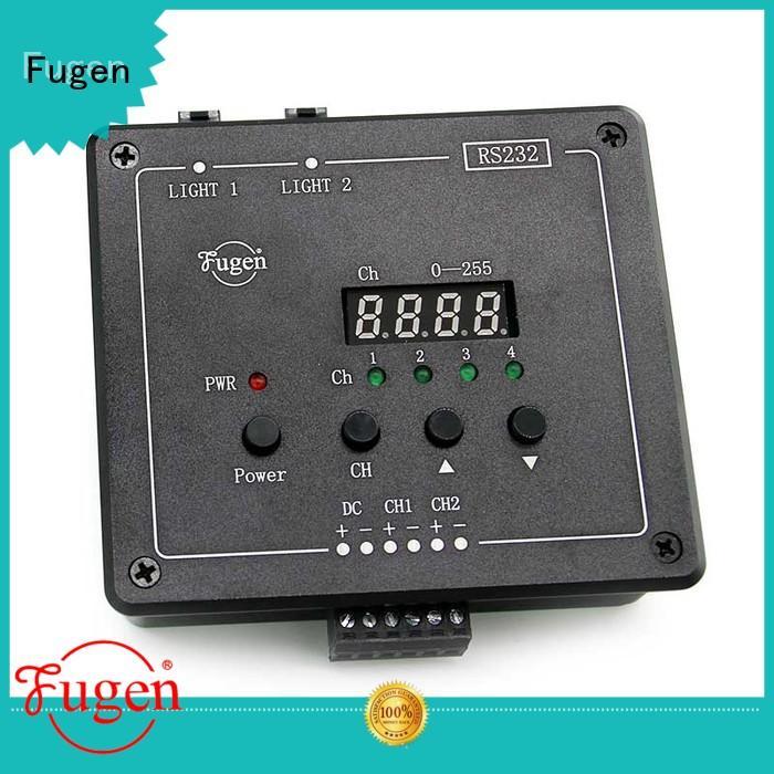 Fugen 12 levels voltage pulse power supply controller design for led light