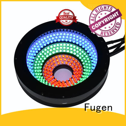 Fugen automated optical inspection light supplier for surface scratches