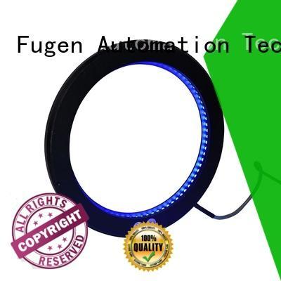 Fugen low angle ring light illuminator manufacturer for lables