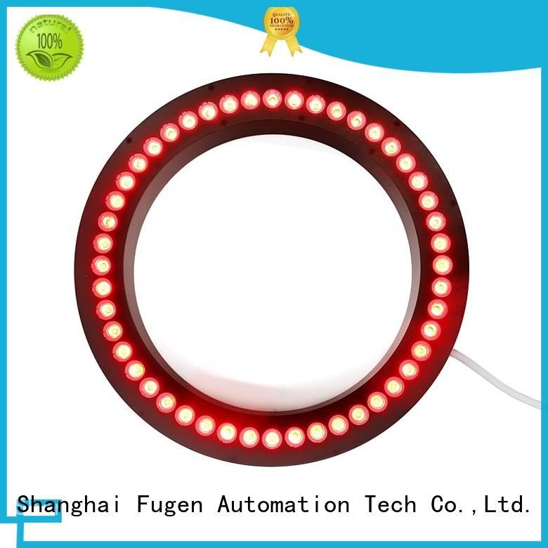 Fugen high power led ring light illuminator for IC elements