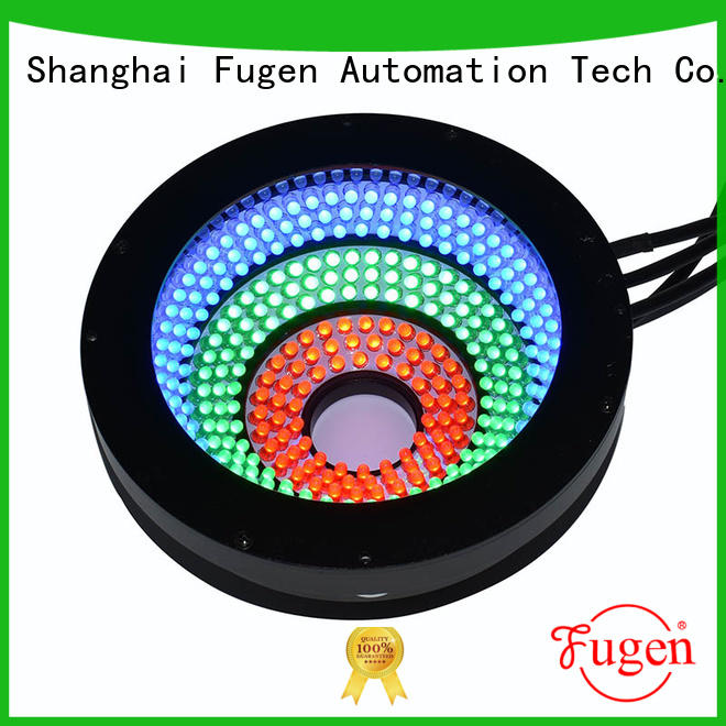 4 colors automated optical inspection light design for surface scratches