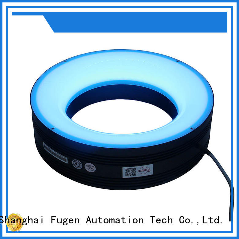 Fugen shadowless professional ring light design for lables
