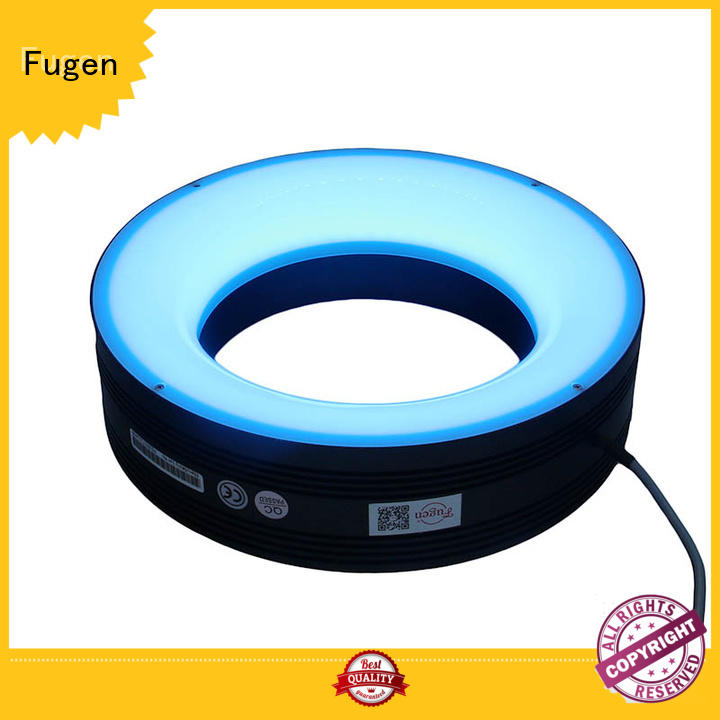 Fugen low angle industrial testing ring light for inspection