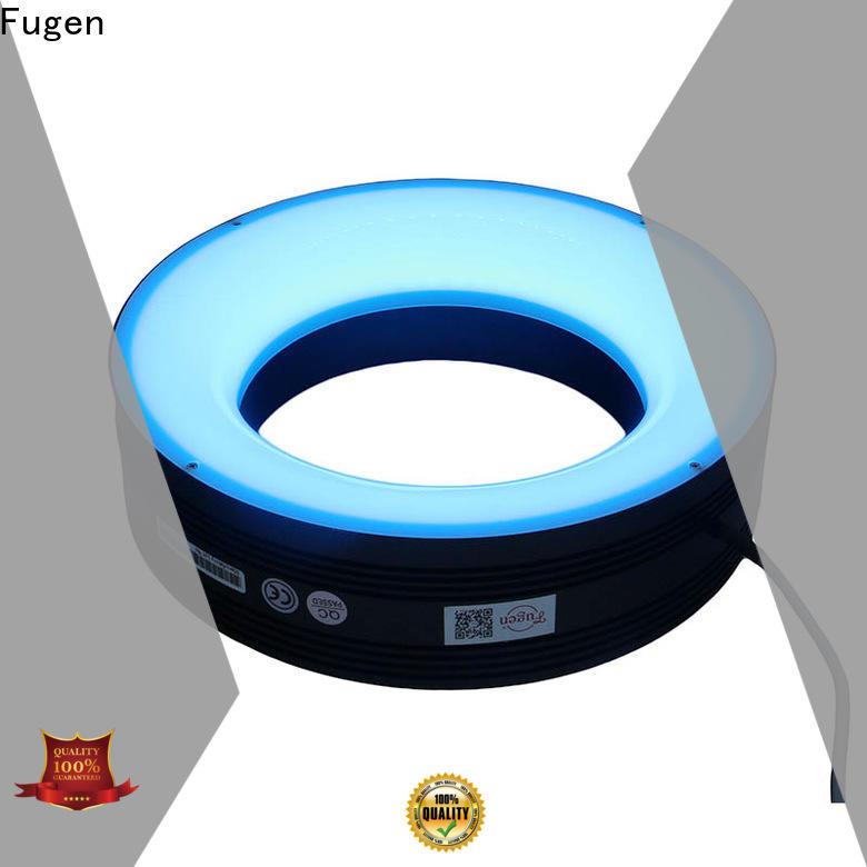 Fugen high power uv ring light supplier for lables