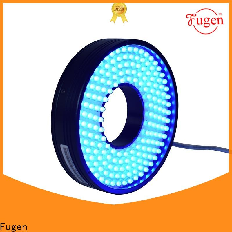 Fugen high power ring light illuminator design for lables
