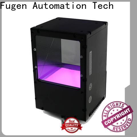 Fugen translucent coaxial illumination design for inspection