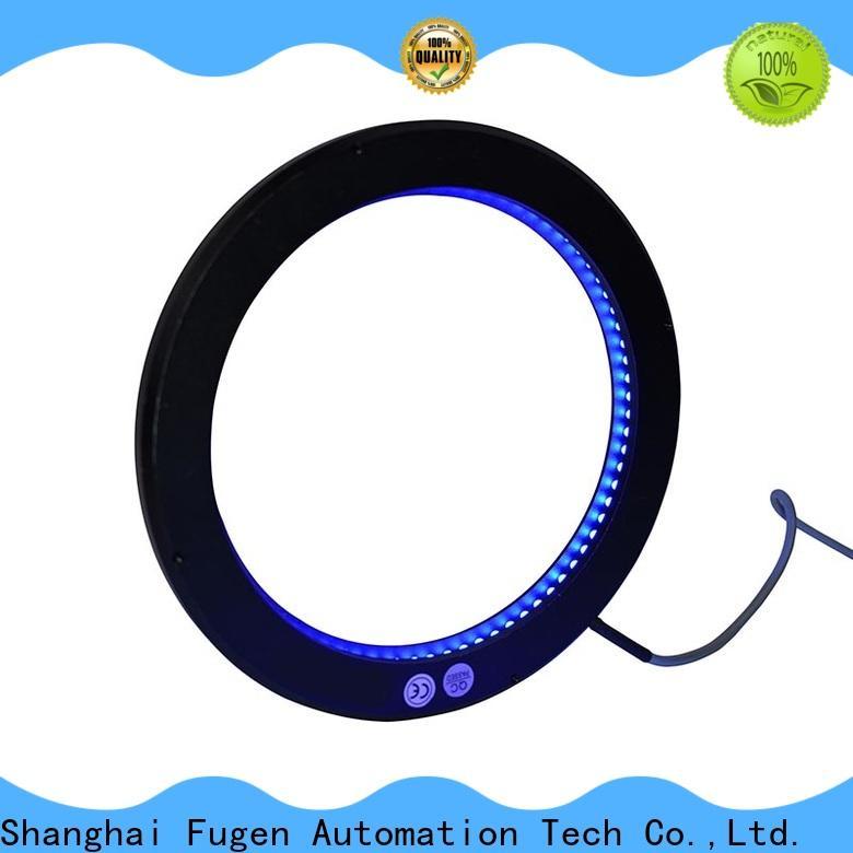 Fugen uv ring light customization for lables