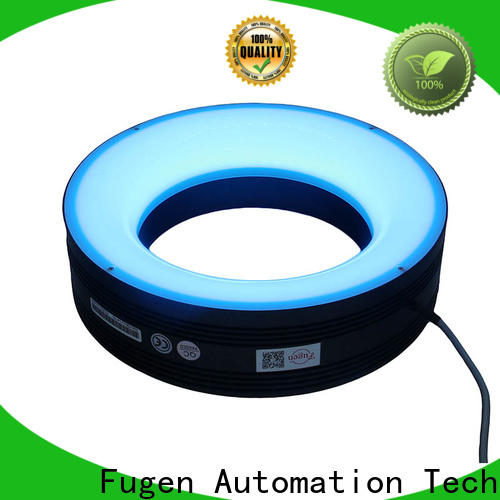 low angle machine vision ring light supplier for lables