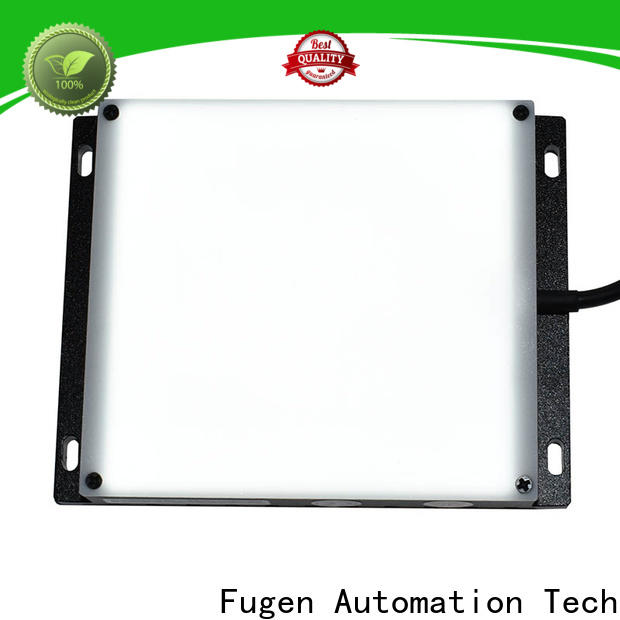 Fugen backlighting design for connector terminals