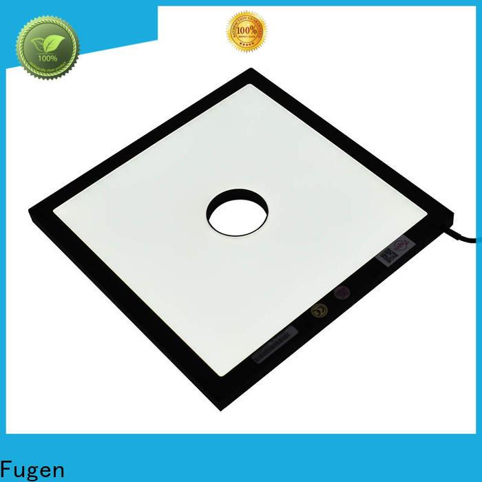 Fugen backlighting design for inspection
