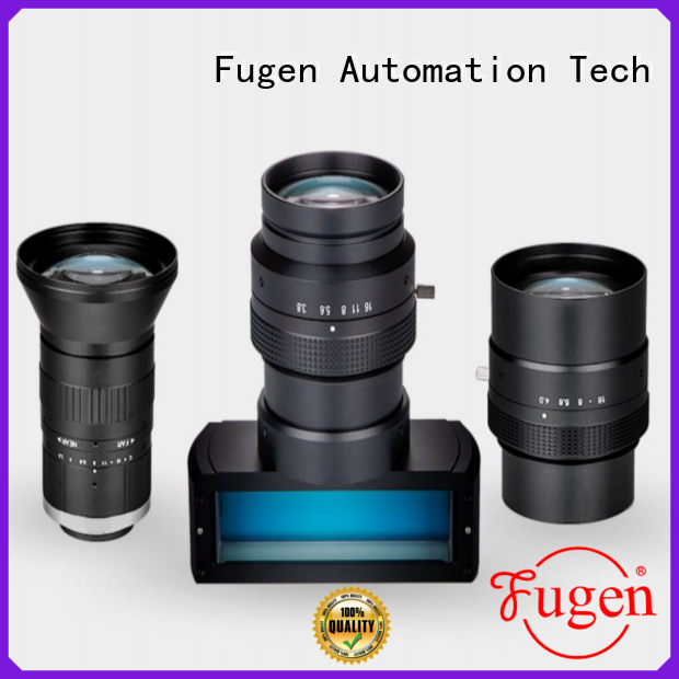 Fugen quality testing camera lens design